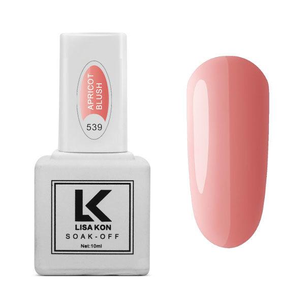 Gel Polish Apricot Blush Lisa Kon