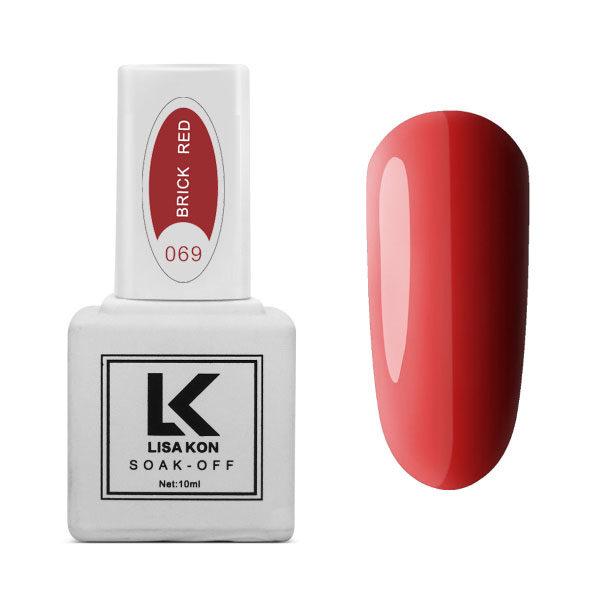 Gel-Polish-Brick-Red-Lisa-Kon