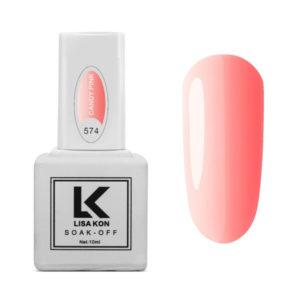 Gel Polish Candy Pink Lisa Kon