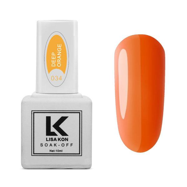 Gel-Polish-Deep-Orange-Lisa-Kon
