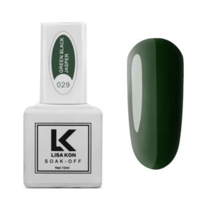 Gel-Polish-Green-Black-Jasper-Lisa-Kon