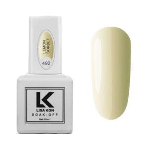 Gel Polish Lemon Sorbet Lisa Kon
