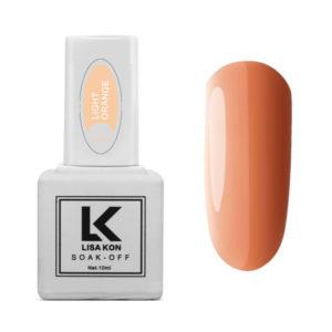 Gel-Polish-Light-Orange-Lisa-Kon