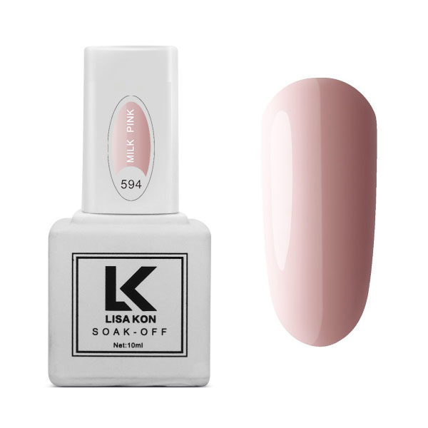 Gel Polish Milk Pink Lisa Kon