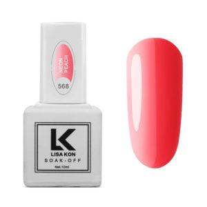 Gel-Polish-Neon-Pink-Lisa-Kon
