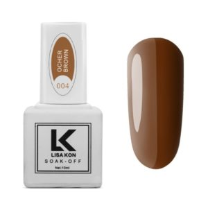 Gel-Polish-Ocher-Brown-Lisa-Kon