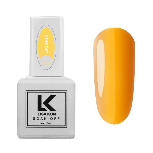 Gel-Polish-Orange-Lisa-Kon