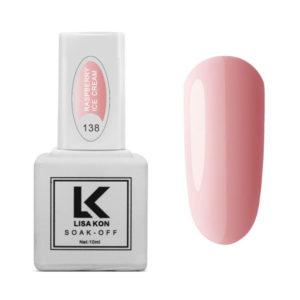 Gel-Polish-Raspberry-Ice-Cream-Lisa-Kon
