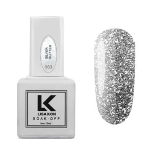 Gel-Polish-Silver-Glitter-Lisa-Kon