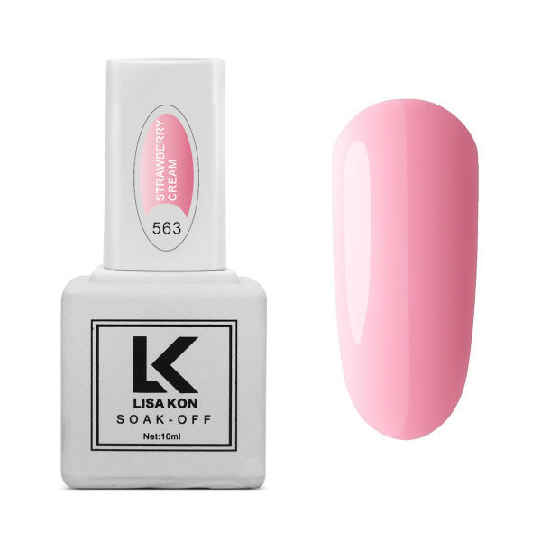Gel-Polish-Strawberry-Icecream-Lisa-Kon