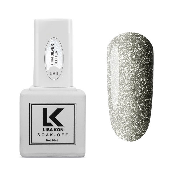 Gel-Polish-Thin-Silver-Glitter-Lisa-Kon
