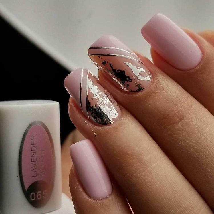Lavender-nail-polish