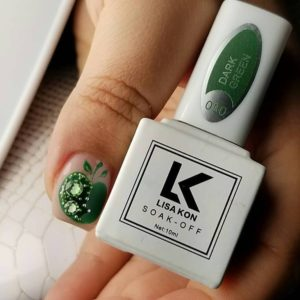 dark-green-nail-polish