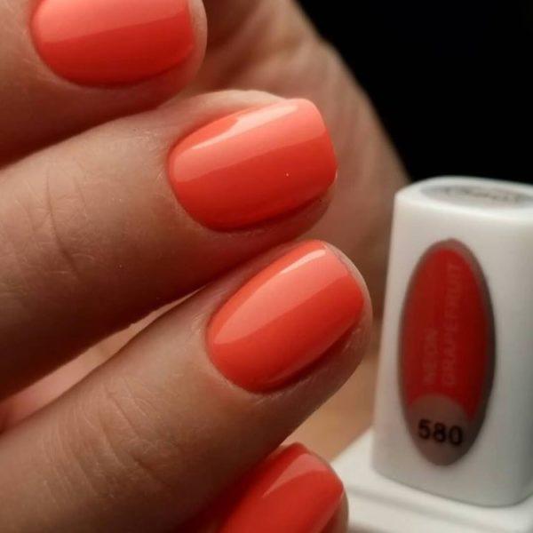 neon-grapefruit-gel-polish