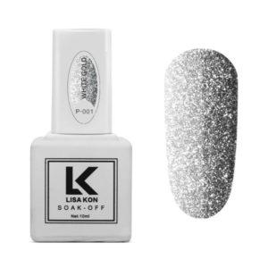 Gel-Polish-Platinum-P-001-Silver-Lisa-Kon
