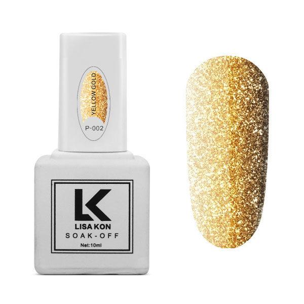 Gel-Polish-Platinum-P-002-Yellow-Gold-Lisa-Kon