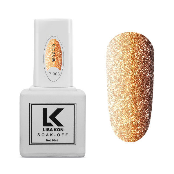Gel-Polish-Platinum-P-003-Red-Gold-Lisa-Kon