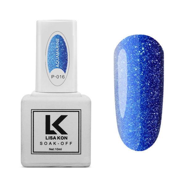Gel Polish Platinum Aquamarine