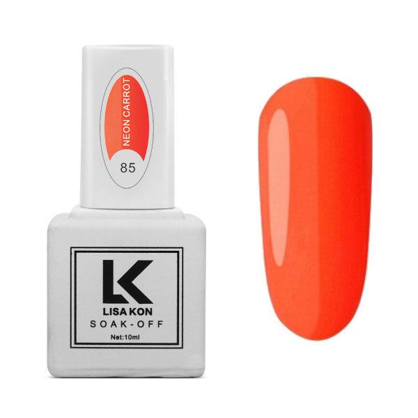 Neon Carrot Nail Varnish