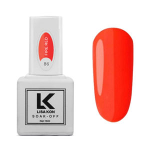 Neon-Red-Nail-Varnish