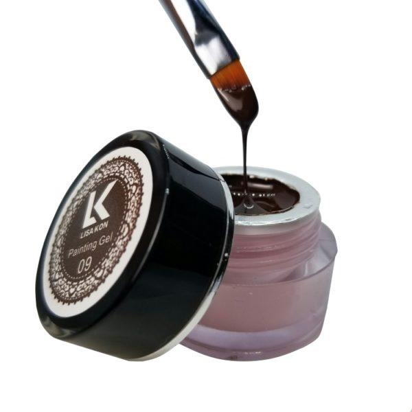 brown-painting-gel-lisa-kon-nail-art