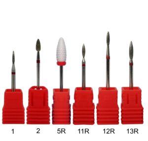 Fine-nail-drill-bits
